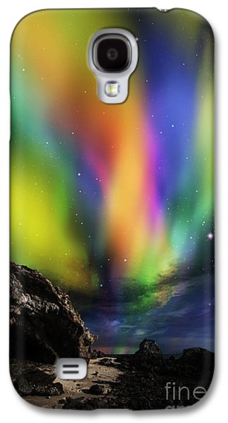Dramatic Aurora Galaxy S4 Case by Atiketta Sangasaeng