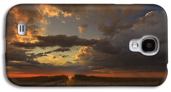 Dramatic Clouds Over Atlantic Ocean Galaxy S4 Case