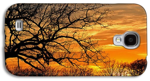 Dramatic Sunset  Galaxy S4 Case
