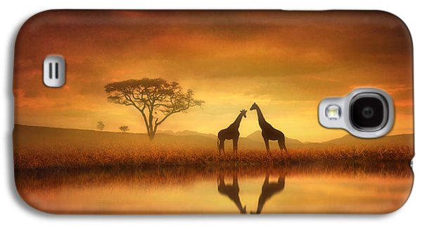 Dreaming Of Africa Galaxy S4 Case by Jennifer Woodward