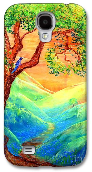 Dreaming Of Bluebells Galaxy S4 Case by Jane Small