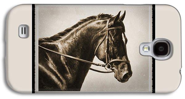 Dressage Horse Old Photo Fx Galaxy S4 Case