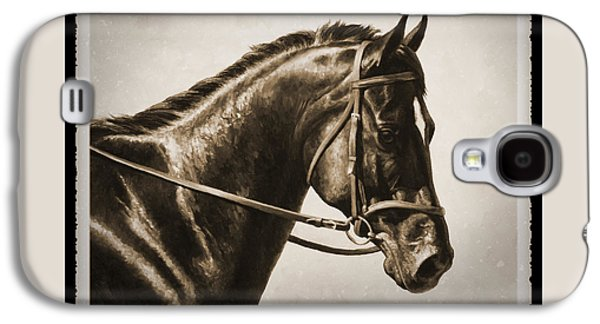 Dressage Horse Old Photo Fx Galaxy S4 Case by Crista Forest