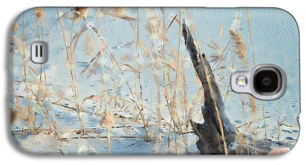 Driftwood Abstract Galaxy S4 Case by Betty LaRue
