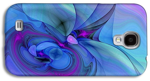 Driven To Abstraction Galaxy S4 Case by Peggy Hughes