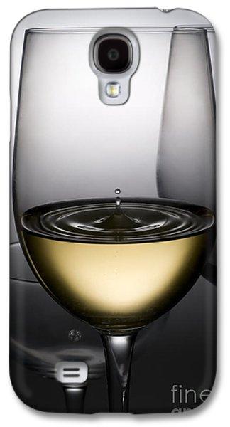 Drops Of Wine In Wine Glasses Galaxy S4 Case by Setsiri Silapasuwanchai