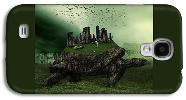 Druid Golf Galaxy S4 Case by Marian Voicu