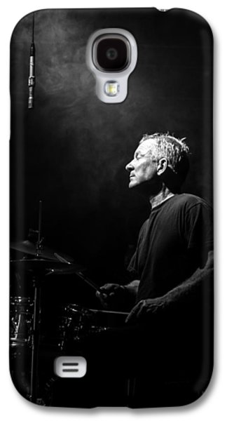 Drum Galaxy S4 Case - Drummer Portrait Of A Muscian by Bob Orsillo