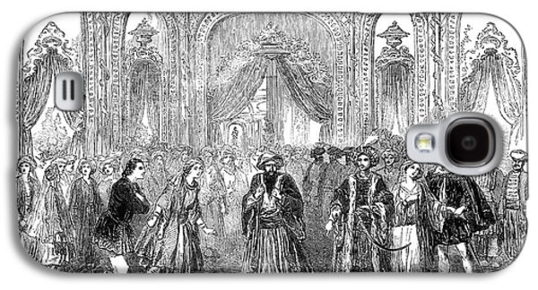 Drury Lane Theatre, 1854 Galaxy S4 Case by Granger