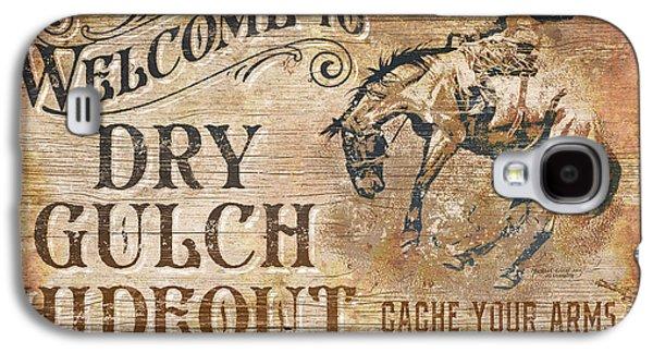 Dry Gulch Hideout Galaxy S4 Case