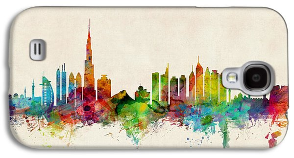 City Scenes Galaxy S4 Case - Dubai Skyline by Michael Tompsett