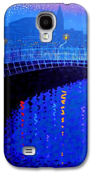 Dublin Starry Nights Galaxy S4 Case by John  Nolan