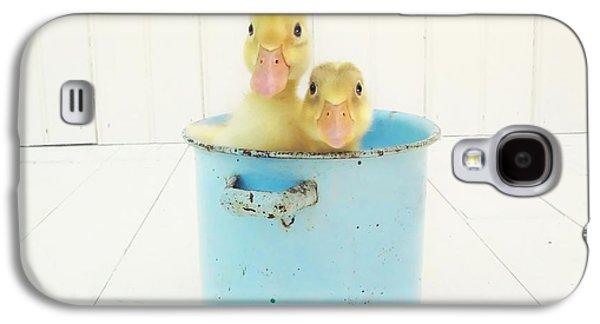 Duck Soup Galaxy S4 Case by Amy Tyler