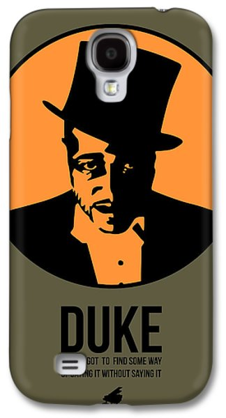 Duke Galaxy S4 Case - Dude Poster 3 by Naxart Studio