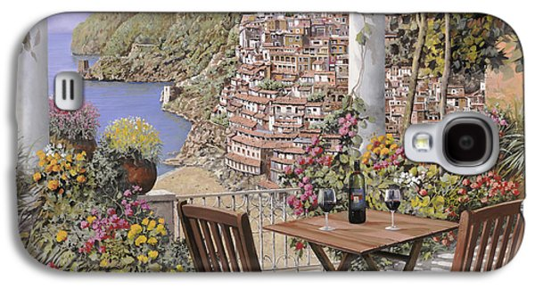 due bicchieri a Positano Galaxy S4 Case by Guido Borelli