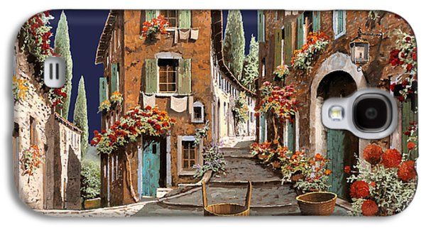 Due Strade Al Mattino Galaxy S4 Case by Guido Borelli