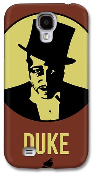 Duke Galaxy S4 Case - Duke Poster 1 by Naxart Studio