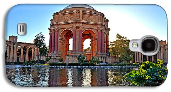 Dusk At The Palace Of Fine Arts In The Marina District Of San Francisco Galaxy S4 Case by Jim Fitzpatrick
