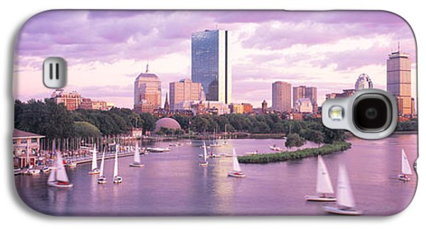 Dusk Boston Ma Galaxy S4 Case by Panoramic Images