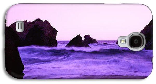 Dusk On The Santa Cruz Coastline Galaxy S4 Case by Panoramic Images