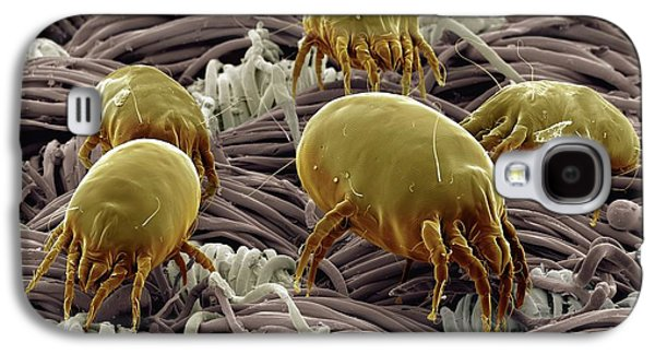 Dust Mites On Fabric Galaxy S4 Case