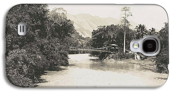 Dutch East Indies, Indonesia, River Godang With Suspension Galaxy S4 Case by Artokoloro