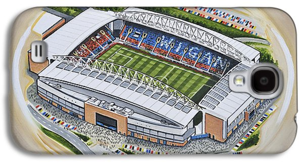 Dw Stadium - Wigan Athletic Galaxy S4 Case by D J Rogers