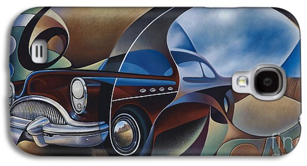 Dynamic Route 66 Galaxy S4 Case