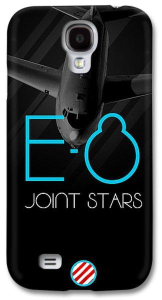 E-8 Joint Stars Blackout Galaxy S4 Case