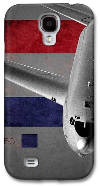 E-8 Joint Stars Flag Spirit Galaxy S4 Case
