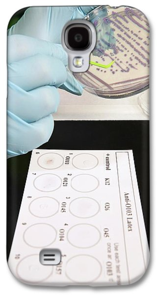 E. Coli Stec Bacterial Test Galaxy S4 Case by Peggy Greb/us Department Of Agriculture