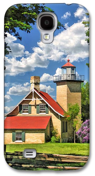 Eagle Bluff Lighthouse Galaxy S4 Case by Christopher Arndt