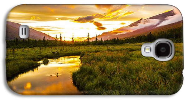 Sunset Valley  Galaxy S4 Case