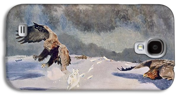 Eagles And Rabbit, 1922 Galaxy S4 Case