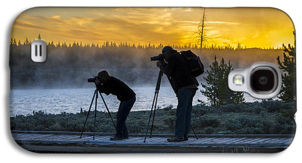 Early Birds Yellowstone National Park Galaxy S4 Case