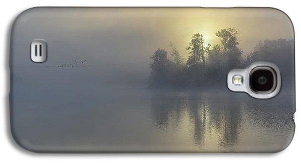 Autumn Landscape Galaxy S4 Case - Early Birds by Kent Olsson