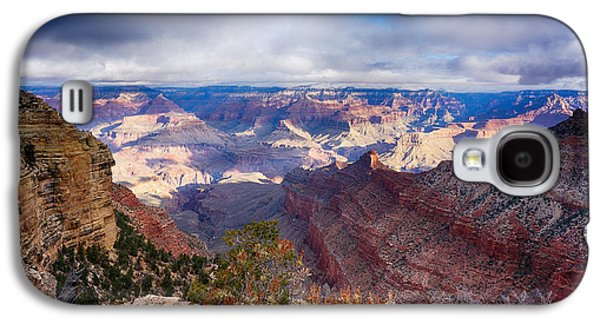 Early Clouds Over Hopi Point Galaxy S4 Case by Lisa  Spencer