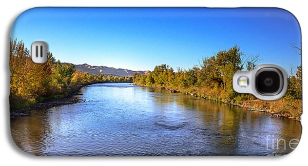 Early Fall On The Payette River Galaxy S4 Case by Robert Bales