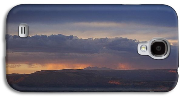Early Monsoon Sunset Over San Francisco Peaks Galaxy S4 Case