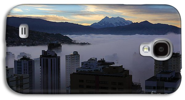 Early Morning Fog In La Paz Galaxy S4 Case