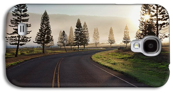 Early Morning Fog On Manele Road Galaxy S4 Case