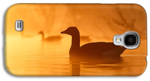 Duck Galaxy S4 Case - Early Morning Mood by Roeselien Raimond