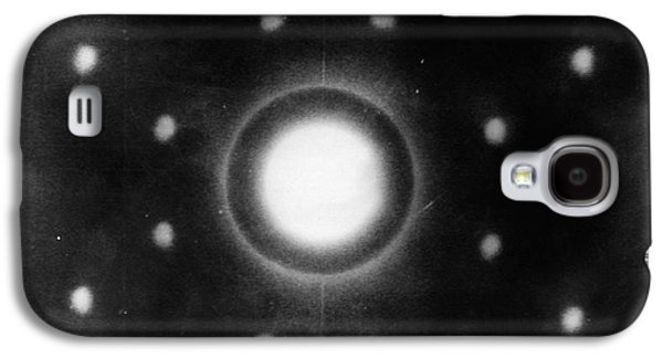 Early Neutron Diffraction Imaging Galaxy S4 Case by Oak Ridge National Laboratory, Courtesy Emilio Segre Visual Archives/american Institute Of Physics