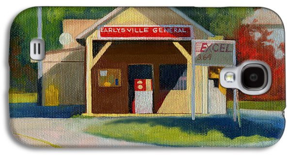 Earlysville Virginia Old Service Station Nostalgia Galaxy S4 Case by Catherine Twomey