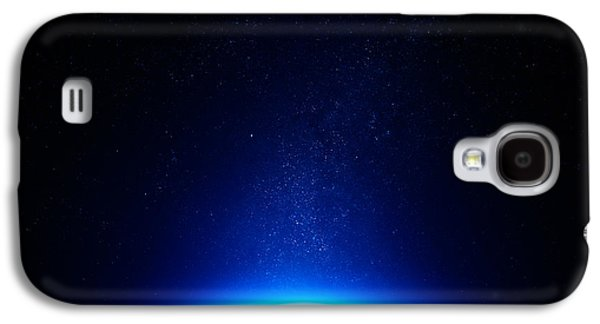 Earth At Night With City Lights Galaxy S4 Case