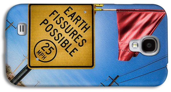 Earth Fissures Possible Galaxy S4 Case