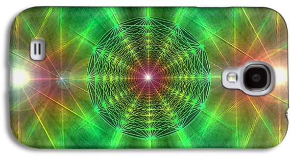 Earth Grid Six Galaxy S4 Case by Derek Gedney