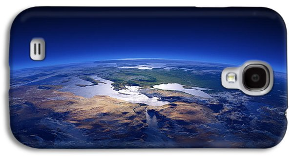 Earth - Mediterranean Countries Galaxy S4 Case by Johan Swanepoel