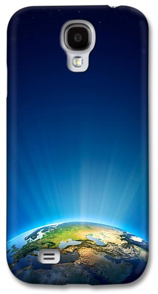Earth Radiant Light Series - Europe Galaxy S4 Case