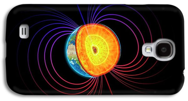 Earth's Core Galaxy S4 Case